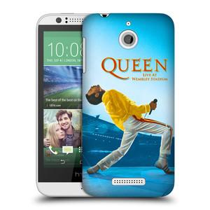 Plastové pouzdro na mobil HTC Desire 510 HEAD CASE Queen - Freddie Mercury