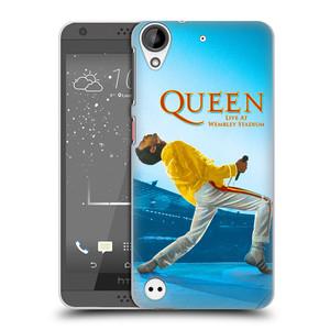 Plastové pouzdro na mobil HTC Desire 530 HEAD CASE Queen - Freddie Mercury