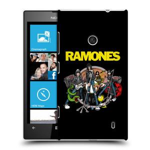 Plastové pouzdro na mobil Nokia Lumia 520 HEAD CASE The Ramones - ILUSTRACE KAPELY