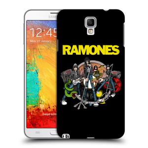 Plastové pouzdro na mobil Samsung Galaxy Note 3 Neo HEAD CASE The Ramones - ILUSTRACE KAPELY