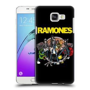 Plastové pouzdro na mobil Samsung Galaxy A5 (2016) HEAD CASE The Ramones - ILUSTRACE KAPELY