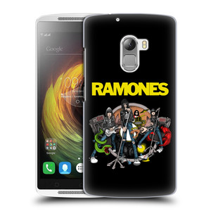 Plastové pouzdro na mobil Lenovo A7010 HEAD CASE The Ramones - ILUSTRACE KAPELY