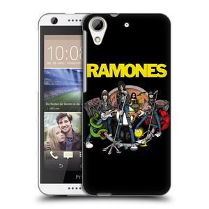 Plastové pouzdro na mobil HTC Desire 626 / 626G HEAD CASE The Ramones - ILUSTRACE KAPELY