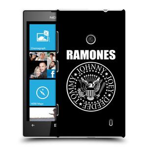 Plastové pouzdro na mobil Nokia Lumia 520 HEAD CASE The Ramones - PRESIDENTIAL SEAL