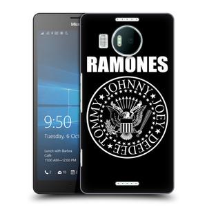 Plastové pouzdro na mobil Microsoft Lumia 950 XL HEAD CASE The Ramones - PRESIDENTIAL SEAL