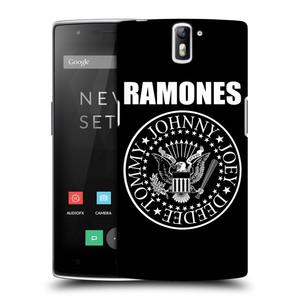 Plastové pouzdro na mobil OnePlus One HEAD CASE The Ramones - PRESIDENTIAL SEAL