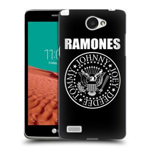 Plastové pouzdro na mobil LG Bello II HEAD CASE The Ramones - PRESIDENTIAL SEAL
