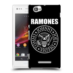 Plastové pouzdro na mobil Sony Xperia M C1905 HEAD CASE The Ramones - PRESIDENTIAL SEAL