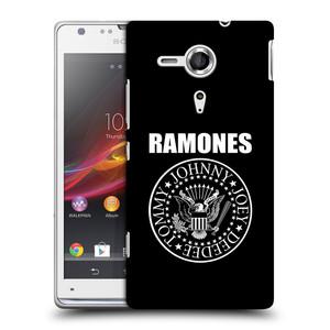 Plastové pouzdro na mobil Sony Xperia SP C5303 HEAD CASE The Ramones - PRESIDENTIAL SEAL
