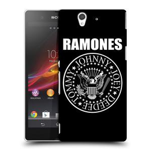 Plastové pouzdro na mobil Sony Xperia Z C6603 HEAD CASE The Ramones - PRESIDENTIAL SEAL