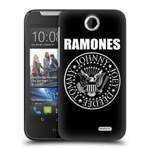 Plastové pouzdro na mobil HTC Desire 310 HEAD CASE The Ramones - PRESIDENTIAL SEAL
