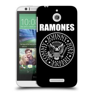 Plastové pouzdro na mobil HTC Desire 510 HEAD CASE The Ramones - PRESIDENTIAL SEAL