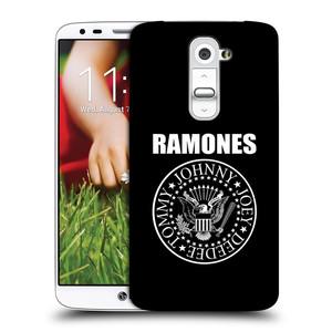 Plastové pouzdro na mobil LG G2 HEAD CASE The Ramones - PRESIDENTIAL SEAL