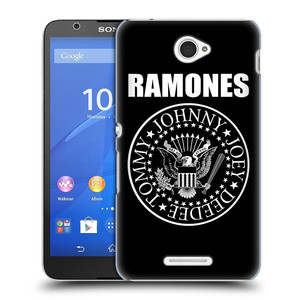 Plastové pouzdro na mobil Sony Xperia E4 E2105 HEAD CASE The Ramones - PRESIDENTIAL SEAL