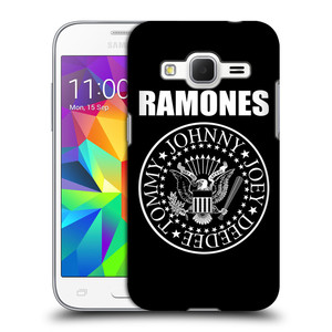 Plastové pouzdro na mobil Samsung Galaxy Core Prime VE HEAD CASE The Ramones - PRESIDENTIAL SEAL