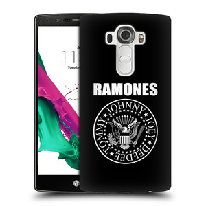 Plastové pouzdro na mobil LG G4 HEAD CASE The Ramones - PRESIDENTIAL SEAL