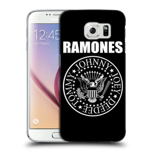 Plastové pouzdro na mobil Samsung Galaxy S6 HEAD CASE The Ramones - PRESIDENTIAL SEAL