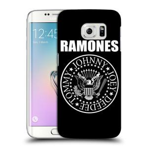 Plastové pouzdro na mobil Samsung Galaxy S6 Edge HEAD CASE The Ramones - PRESIDENTIAL SEAL
