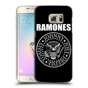 Plastové pouzdro na mobil Samsung Galaxy S7 Edge HEAD CASE The Ramones - PRESIDENTIAL SEAL