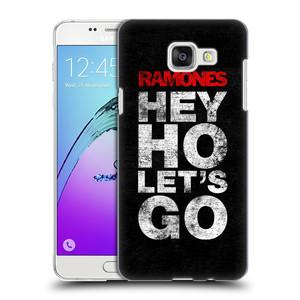 Plastové pouzdro na mobil Samsung Galaxy A5 (2016) HEAD CASE The Ramones - HEY HO LET´S GO