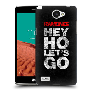 Plastové pouzdro na mobil LG Bello II HEAD CASE The Ramones - HEY HO LET´S GO