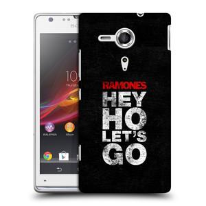 Plastové pouzdro na mobil Sony Xperia SP C5303 HEAD CASE The Ramones - HEY HO LET´S GO