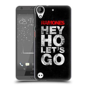 Plastové pouzdro na mobil HTC Desire 530 HEAD CASE The Ramones - HEY HO LET´S GO