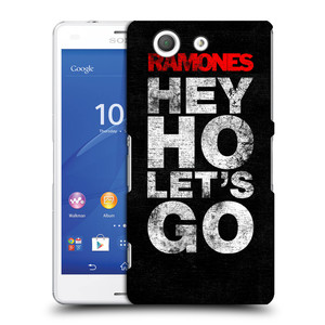 Plastové pouzdro na mobil Sony Xperia Z3 Compact D5803 HEAD CASE The Ramones - HEY HO LET´S GO