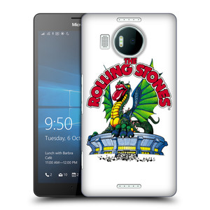 Plastové pouzdro na mobil Microsoft Lumia 950 XL HEAD CASE The Rolling Stones - Dragon