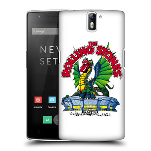 Plastové pouzdro na mobil OnePlus One HEAD CASE The Rolling Stones - Dragon