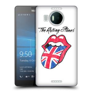 Plastové pouzdro na mobil Microsoft Lumia 950 XL HEAD CASE The Rolling Stones - Britský Vintage Jazýček