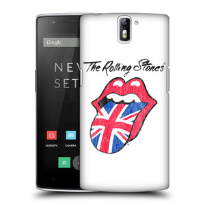 Plastové pouzdro na mobil OnePlus One HEAD CASE The Rolling Stones - Britský Vintage Jazýček