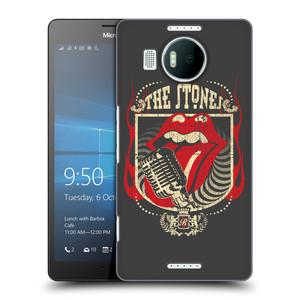 Plastové pouzdro na mobil Microsoft Lumia 950 XL HEAD CASE The Rolling Stones - Mikrák