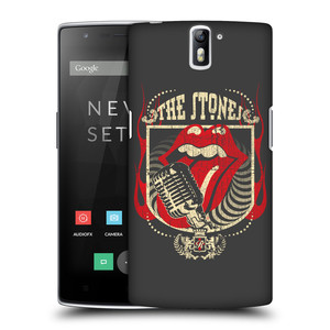 Plastové pouzdro na mobil OnePlus One HEAD CASE The Rolling Stones - Mikrák