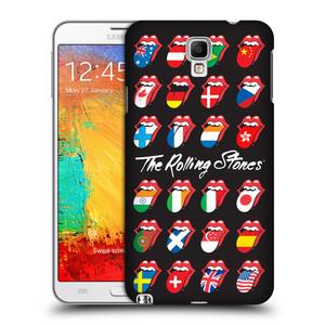 Plastové pouzdro na mobil Samsung Galaxy Note 3 Neo HEAD CASE The Rolling Stones - Jazyky 24 Zemí
