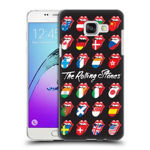 Plastové pouzdro na mobil Samsung Galaxy A5 (2016) HEAD CASE The Rolling Stones - Jazyky 24 Zemí