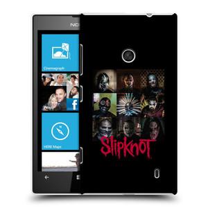 Plastové pouzdro na mobil Nokia Lumia 520 HEAD CASE Slipknot - Bloky