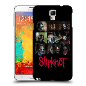 Plastové pouzdro na mobil Samsung Galaxy Note 3 Neo HEAD CASE Slipknot - Bloky