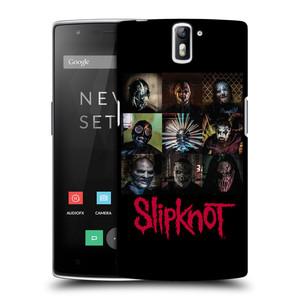 Plastové pouzdro na mobil OnePlus One HEAD CASE Slipknot - Bloky