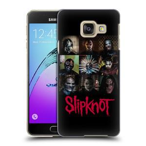 Plastové pouzdro na mobil Samsung Galaxy A3 (2016) HEAD CASE Slipknot - Bloky