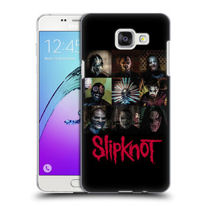 Plastové pouzdro na mobil Samsung Galaxy A5 (2016) HEAD CASE Slipknot - Bloky