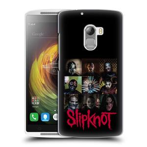 Plastové pouzdro na mobil Lenovo A7010 HEAD CASE Slipknot - Bloky
