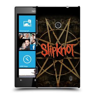 Plastové pouzdro na mobil Nokia Lumia 520 HEAD CASE Slipknot - Znak