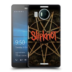 Plastové pouzdro na mobil Microsoft Lumia 950 XL HEAD CASE Slipknot - Znak
