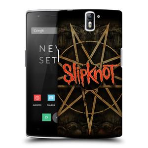 Plastové pouzdro na mobil OnePlus One HEAD CASE Slipknot - Znak