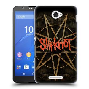 Plastové pouzdro na mobil Sony Xperia E4 E2105 HEAD CASE Slipknot - Znak