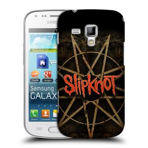 Plastové pouzdro na mobil Samsung Galaxy Trend Plus HEAD CASE Slipknot - Znak