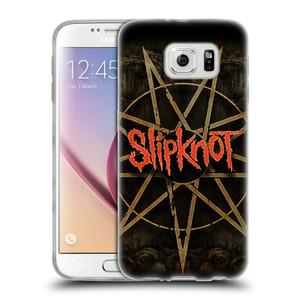 Silikonové pouzdro na mobil Samsung Galaxy S6 HEAD CASE Slipknot - Znak