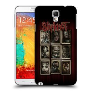 Plastové pouzdro na mobil Samsung Galaxy Note 3 Neo HEAD CASE Slipknot - Masky
