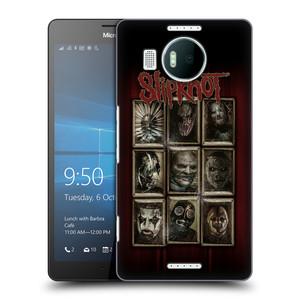 Plastové pouzdro na mobil Microsoft Lumia 950 XL HEAD CASE Slipknot - Masky
